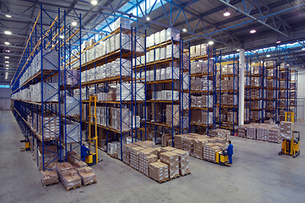 RVI warehouse services
